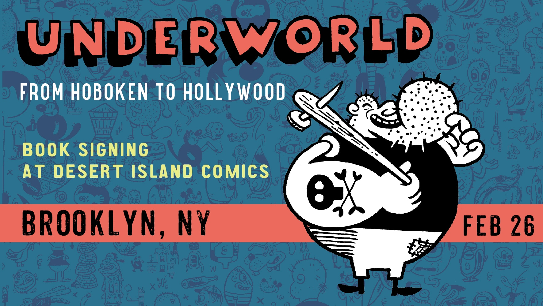 Underworld Book signing at Word Bookstore Brooklyn Feb 26
